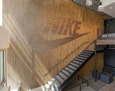 Nike Brand Walls by Fieldwork Design & Architecture #interior #wall #design #art