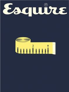 Esquire – The magazine for men who mean business #barr #illustration #noma