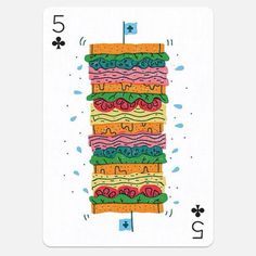 sandwich, illustration