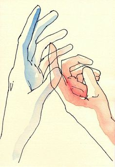 Hands series XIV by anapina on Etsy #illustration #hand