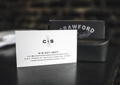 Crawford & Son Business Card - Paul Tuorto