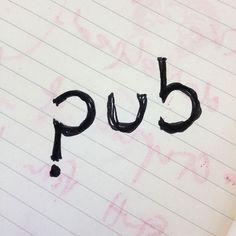 Pub quiz logo #logo #quiz #pub