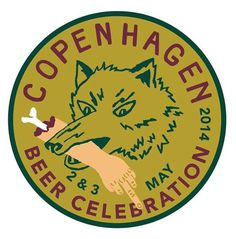 Copenhagen Beer Celebration #beer #celebration #logo #fest #wolf #copenhagen