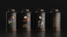 Tea packaging brand design