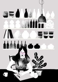 Karolin Schnoor #spots #illustration