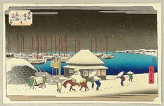 Search of Art Archive - artelino #ando #print #hiroshige #takanawa #woodblock #japan