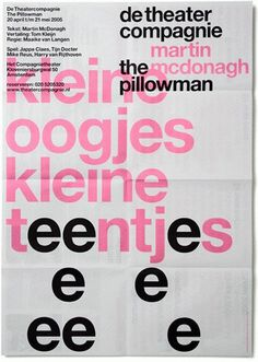 FFFFOUND! | Experimental Jetset: De Theatercompagnie #tyoe #helvetica #color