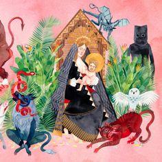 father-john-misty-honeybear-02 #album #illustration #art