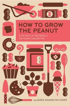 How to grow the peanut #illustration #book #book cover #vector #cover #peanut