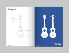 Matt Jones. Design Blog #ukulele #design #graphic #book #booklet #typography