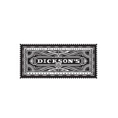 dicksons.jpg (481×481) #mark #brand #illustration #logo #typography