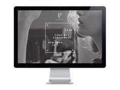 Curators Conference Branding Identity | RoAndCo Studio #web #typography