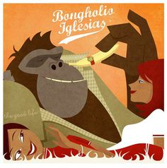 A tumblr to discover the world of beat-making gorilla Bongholio Iglesias. #artwork #cover #illustration #gorilla #sample #music #beats