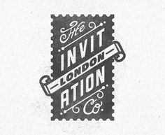 The Invitation Company #stamp #invitation #the #company #type