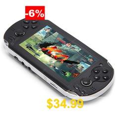 RageBee #X7 #4.3 #inch #Screen #1000 #Games #Handheld #Game #console #- #BLACK