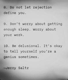 mindfudge:7knotwind:JERRY SALTZ advice for artists (quote found via:toddahh)kinda needed that
