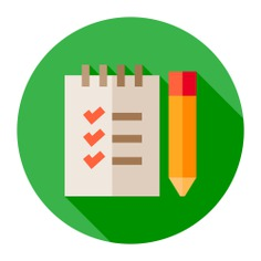 See more icon inspiration related to order, list, notebook, notepad, note, files and folders, check list, writing tool and pencil on Flaticon.