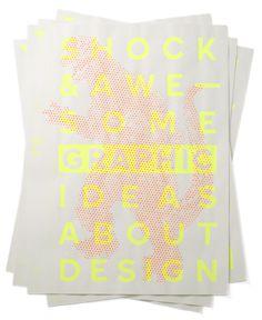 Christopher Simmons at AIforGA Poster #poster #neon #screenprint