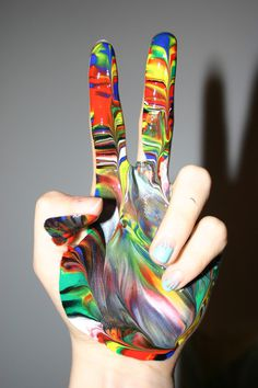 Paint Hand #photo #paint hand