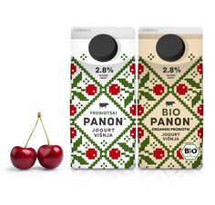 Free Flavour » Panon Dairy #packaging #design #graphic #yoghurt #diary