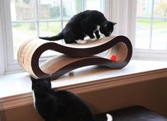 Deluxe Cat Scratcher Lounge by PetFusion #tech #flow #gadget #gift #ideas #cool