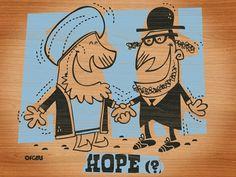 ilustración / dibujo, diseño web y camisetas | OFGMS | olivier fritsch gomez #hope