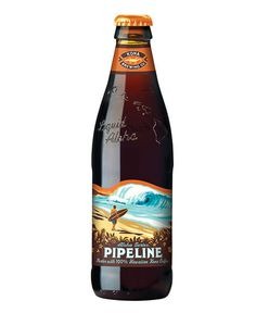 Kona Pipeline Porter Bottle #beer #lable #bottle