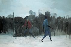 Andrew Hem | Friend or foe #painting #hem #art #andrew