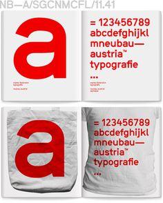 MarkeOesterreich T #catalog #neubau #typography