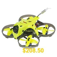 LDARC #ET75 #HD #74mm #F4 #OSD #3S #FPV #Racing #Drone #PNP #with #Caddx #Turtle #V2 #1080P #Camera #- #TEA #GREEN