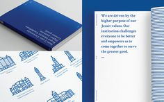 brand, layout, pattern, blue, white, book, print, architecture, illustration