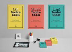 Teatre CCCB #print #branding