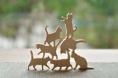 #jenga #cat #bricks #puzzle  #wood