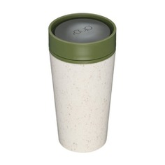 Recycled Coffee Cup Traveler Make coffee time more enjoyable with the Recycled Coffee Cup Traveler. It is made entirely from recycled paper coffee cups. It's insulated to keep your drink hot or cold without burning your hands.