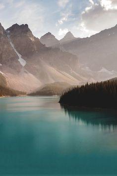 tumblr_msf38munIz1ri4ix8o1_500 #water #mountains #lake