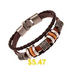 Couple #Accessories #Leather #Bracelet #Restore #Ancient #Ways #- #SIENNA