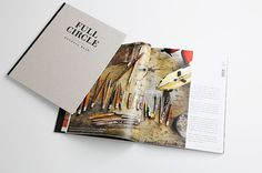 Description #catalog #print #book #spread #type #layout #brochure