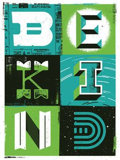 Be kind #typography