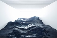 Japanese Art Collective 'Mé' Creates a Hyperrealistic Landscape of Ocean Waves at the Mori Art Museum | Colossal