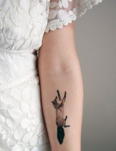 fox tattoo #tattoo