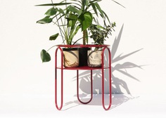 Bujnie Designs the Bauhaus-Inspired BonBon Collection of Plant Stands - Design Milk