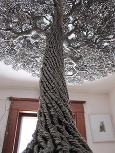 Wire Trees by Kevin Iris #sculpture #tree #iris #kevin #wire #art