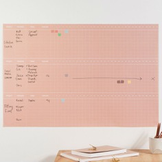 Project Wall Planner - IPPINKA Manage your team projects with the Project Wall Planner. It is a poster-sized planner that helps define and outline tasks and assignments. It features space to identify and monitor assigned teams, tasks, timelines, and progress