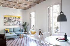 So Cheery and Fresh Tyche Apartment - interior design, interior, decor, home decor, home design, #interiordesign