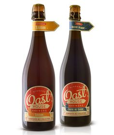 Oast House Brewers Bottles #packaging #beer #label #bottle