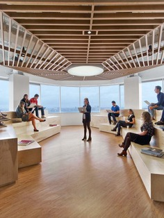 Galería de Oficina Saatchi & Saatchi Nueva York / M Moser Associates - 3
