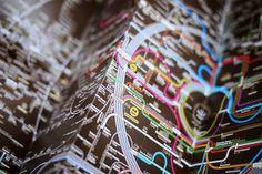 Subway Maps Designed by Zero Per Zero