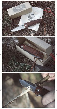 Hobo and Sailor | Knife for Tramps and Sailors #design #branding #packaging #knife