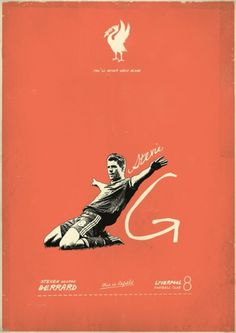 Sucker for Soccer on the Behance Network #design #vintage #liverpool #gerrard