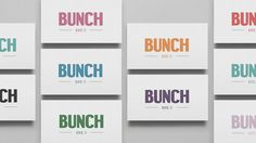 Bunch — DIA — Strategy | Branding | Design | Motion #card #business #stationery